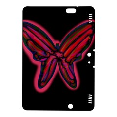 Red butterfly Kindle Fire HDX 8.9  Hardshell Case