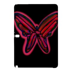 Red butterfly Samsung Galaxy Tab Pro 10.1 Hardshell Case