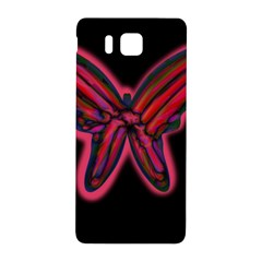 Red butterfly Samsung Galaxy Alpha Hardshell Back Case
