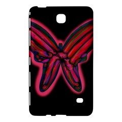 Red butterfly Samsung Galaxy Tab 4 (8 ) Hardshell Case