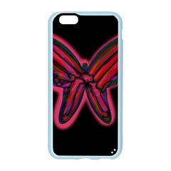 Red butterfly Apple Seamless iPhone 6/6S Case (Color)
