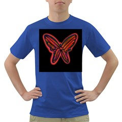 Red butterfly Dark T-Shirt