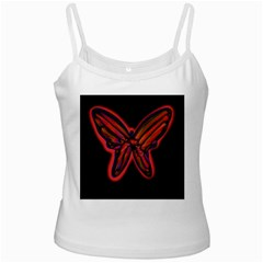 Red butterfly Ladies Camisoles