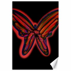 Red butterfly Canvas 20  x 30