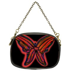 Red butterfly Chain Purses (One Side)