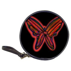 Red butterfly Classic 20-CD Wallets