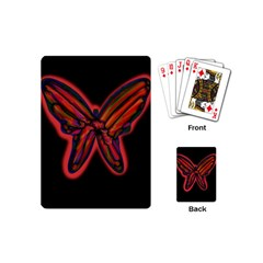 Red butterfly Playing Cards (Mini)