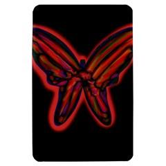 Red butterfly Kindle Fire (1st Gen) Hardshell Case