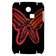Red butterfly Samsung S3350 Hardshell Case