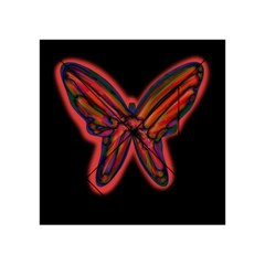 Red butterfly Acrylic Tangram Puzzle (4  x 4 )