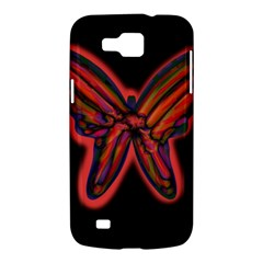 Red butterfly Samsung Galaxy Premier I9260 Hardshell Case