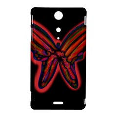 Red butterfly Sony Xperia TX