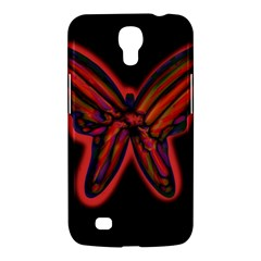 Red butterfly Samsung Galaxy Mega 6.3  I9200 Hardshell Case