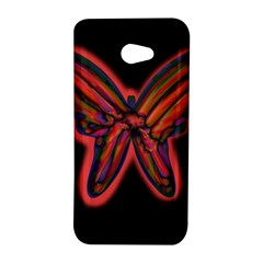 Red butterfly HTC Butterfly S/HTC 9060 Hardshell Case