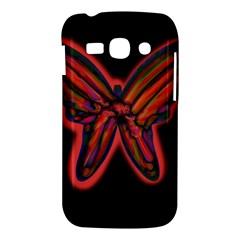 Red butterfly Samsung Galaxy Ace 3 S7272 Hardshell Case