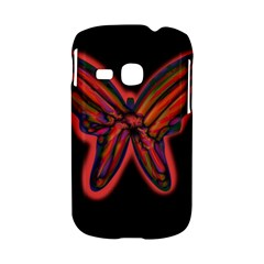 Red butterfly Samsung Galaxy S6310 Hardshell Case