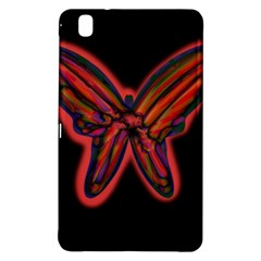 Red butterfly Samsung Galaxy Tab Pro 8.4 Hardshell Case
