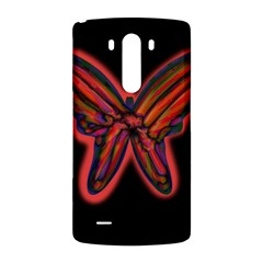 Red butterfly LG G3 Back Case
