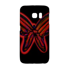 Red butterfly Galaxy S6 Edge