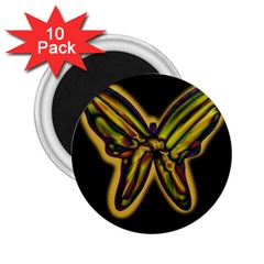 Night butterfly 2.25  Magnets (10 pack)