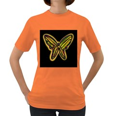 Night butterfly Women s Dark T-Shirt