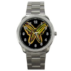 Night butterfly Sport Metal Watch