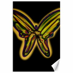 Night butterfly Canvas 24  x 36