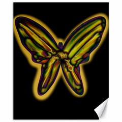Night butterfly Canvas 11  x 14