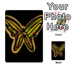 Night butterfly Multi-purpose Cards (Rectangle)