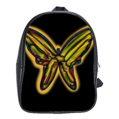 Night butterfly School Bags(Large)
