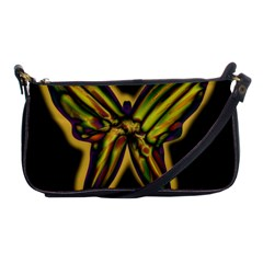 Night butterfly Shoulder Clutch Bags
