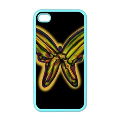 Night butterfly Apple iPhone 4 Case (Color)