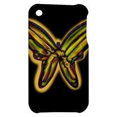 Night butterfly Apple iPhone 3G/3GS Hardshell Case