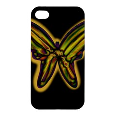Night butterfly Apple iPhone 4/4S Hardshell Case