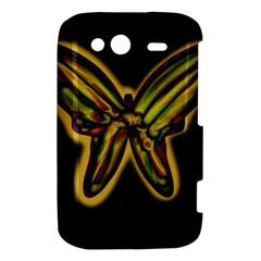 Night butterfly HTC Wildfire S A510e Hardshell Case