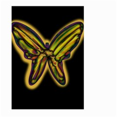 Night butterfly Large Garden Flag (Two Sides)