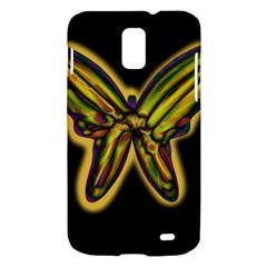 Night butterfly Samsung Galaxy S II Skyrocket Hardshell Case