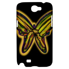 Night butterfly Samsung Galaxy Note 2 Hardshell Case