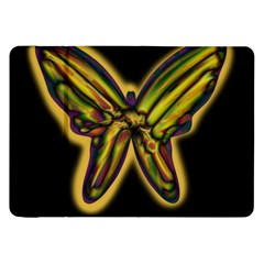 Night butterfly Samsung Galaxy Tab 8.9  P7300 Flip Case