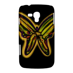 Night butterfly Samsung Galaxy Duos I8262 Hardshell Case