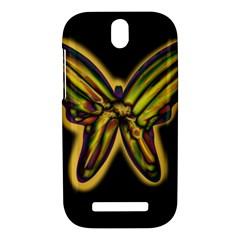 Night butterfly HTC One SV Hardshell Case