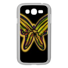 Night butterfly Samsung Galaxy Grand DUOS I9082 Case (White)