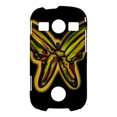 Night butterfly Samsung Galaxy S7710 Xcover 2 Hardshell Case