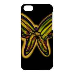 Night butterfly Apple iPhone 5C Hardshell Case