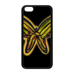 Night butterfly Apple iPhone 5C Seamless Case (Black)