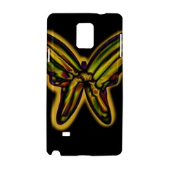 Night butterfly Samsung Galaxy Note 4 Hardshell Case