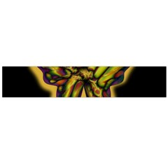 Night butterfly Flano Scarf (Large)