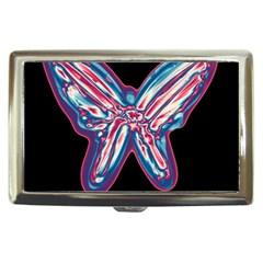 Neon butterfly Cigarette Money Cases