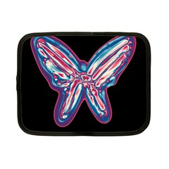 Neon butterfly Netbook Case (Small)
