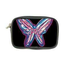 Neon butterfly Coin Purse